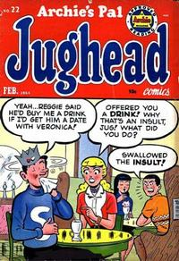 Cover Thumbnail for Archie's Pal Jughead (Archie, 1949 series) #22