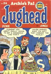 Cover Thumbnail for Archie's Pal Jughead (Archie, 1949 series) #24