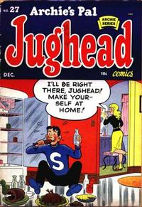 Cover Thumbnail for Archie's Pal Jughead (Archie, 1949 series) #27