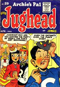 Cover Thumbnail for Archie's Pal Jughead (Archie, 1949 series) #29