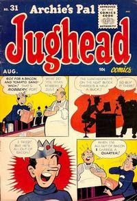 Cover Thumbnail for Archie's Pal Jughead (Archie, 1949 series) #31