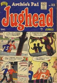 Cover Thumbnail for Archie's Pal Jughead (Archie, 1949 series) #33