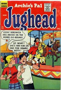 Cover Thumbnail for Archie's Pal Jughead (Archie, 1949 series) #42