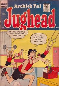 Cover Thumbnail for Archie's Pal Jughead (Archie, 1949 series) #43