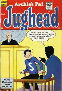 Cover Thumbnail for Archie's Pal Jughead (Archie, 1949 series) #58