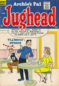 Cover Thumbnail for Archie's Pal Jughead (Archie, 1949 series) #69