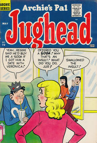Cover Thumbnail for Archie's Pal Jughead (Archie, 1949 series) #72