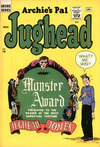 Cover Thumbnail for Archie's Pal Jughead (Archie, 1949 series) #78