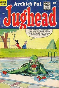 Cover Thumbnail for Archie's Pal Jughead (Archie, 1949 series) #79