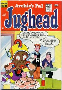 Cover Thumbnail for Archie's Pal Jughead (Archie, 1949 series) #80