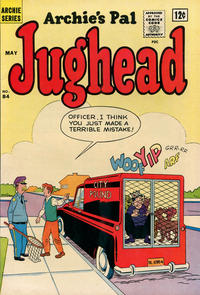 Cover Thumbnail for Archie's Pal Jughead (Archie, 1949 series) #84