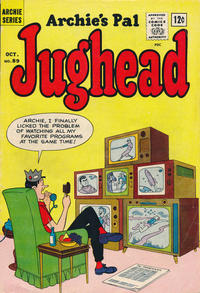 Cover Thumbnail for Archie's Pal Jughead (Archie, 1949 series) #89