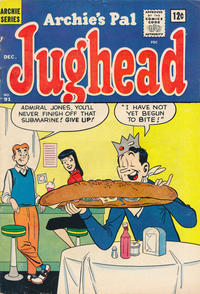 Cover Thumbnail for Archie's Pal Jughead (Archie, 1949 series) #91