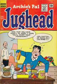 Cover Thumbnail for Archie's Pal Jughead (Archie, 1949 series) #92