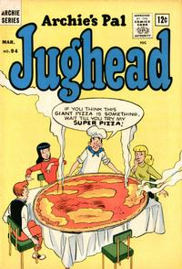 Cover Thumbnail for Archie's Pal Jughead (Archie, 1949 series) #94