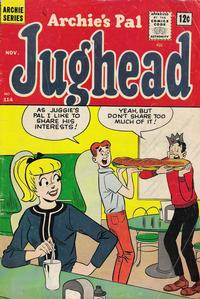 Cover Thumbnail for Archie's Pal Jughead (Archie, 1949 series) #114
