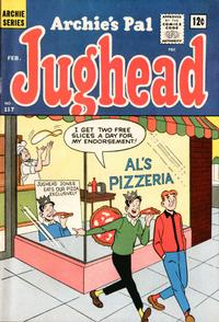 Cover Thumbnail for Archie's Pal Jughead (Archie, 1949 series) #117