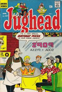 Cover Thumbnail for Jughead (Archie, 1965 series) #167