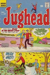 Cover Thumbnail for Jughead (Archie, 1965 series) #187