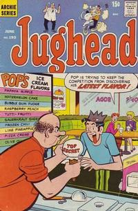 Cover Thumbnail for Jughead (Archie, 1965 series) #193