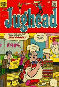 Cover Thumbnail for Jughead (Archie, 1965 series) #200