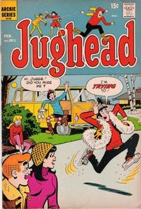 Cover Thumbnail for Jughead (Archie, 1965 series) #201