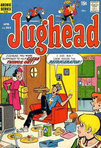 Cover Thumbnail for Jughead (Archie, 1965 series) #203