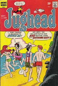 Cover Thumbnail for Jughead (Archie, 1965 series) #208