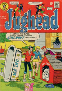 Cover Thumbnail for Jughead (Archie, 1965 series) #218
