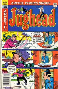 Cover Thumbnail for Jughead (Archie, 1965 series) #287