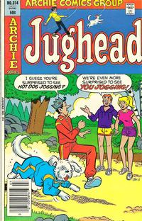 Cover Thumbnail for Jughead (Archie, 1965 series) #314