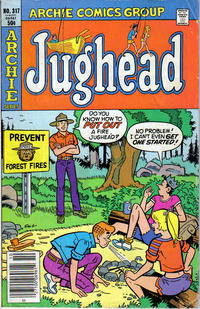 Cover Thumbnail for Jughead (Archie, 1965 series) #317