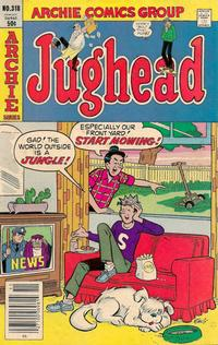 Cover Thumbnail for Jughead (Archie, 1965 series) #318