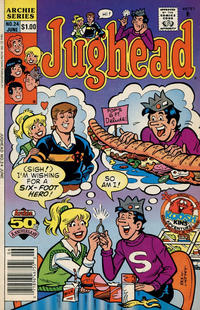 Cover Thumbnail for Jughead (Archie, 1987 series) #24 [Newsstand]