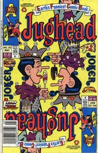 Cover Thumbnail for Jughead (Archie, 1987 series) #33 [Newsstand]