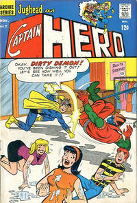 Cover Thumbnail for Jughead As Captain Hero (Archie, 1966 series) #7