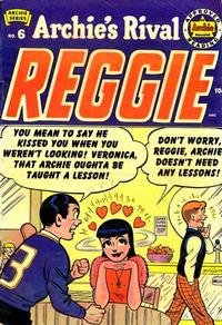 Cover Thumbnail for Archie's Rival Reggie (Archie, 1949 series) #6