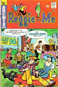 Cover Thumbnail for Reggie and Me (Archie, 1966 series) #71