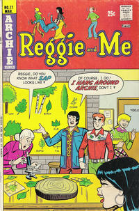 Cover Thumbnail for Reggie and Me (Archie, 1966 series) #77