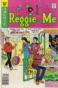 Cover Thumbnail for Reggie and Me (Archie, 1966 series) #97