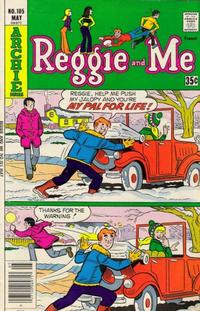 Cover Thumbnail for Reggie and Me (Archie, 1966 series) #105