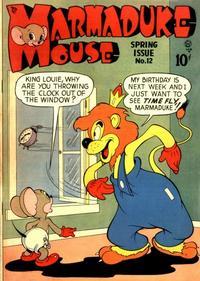 Cover Thumbnail for Marmaduke Mouse (Quality Comics, 1946 series) #12