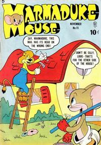 Cover Thumbnail for Marmaduke Mouse (Quality Comics, 1946 series) #15