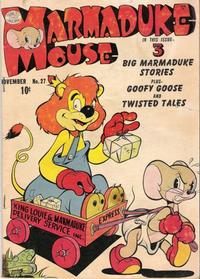 Cover Thumbnail for Marmaduke Mouse (Quality Comics, 1946 series) #27