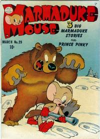 Cover Thumbnail for Marmaduke Mouse (Quality Comics, 1946 series) #29