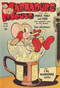 Cover Thumbnail for Marmaduke Mouse (Quality Comics, 1946 series) #36