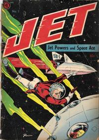 Cover Thumbnail for Jet Powers (Magazine Enterprises, 1950 series) #1 [A-1 #30]
