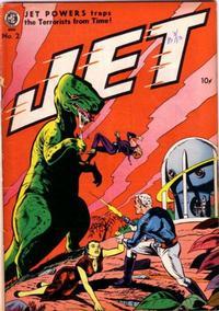 Cover Thumbnail for Jet Powers (Magazine Enterprises, 1950 series) #2 [A-1 #32]