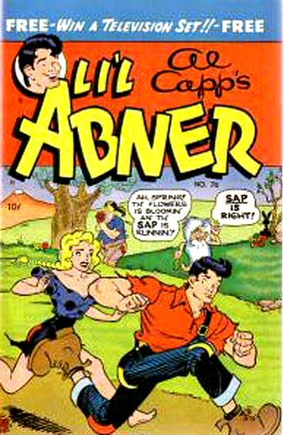 Cover for Al Capp's Li'l Abner (Toby, 1949 series) #76