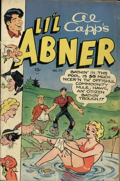 Cover for Al Capp's Li'l Abner (Toby, 1949 series) #79